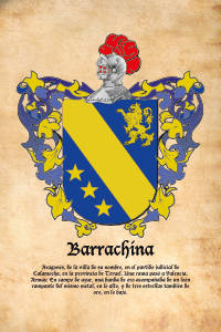Escudo heráldico Barrachina