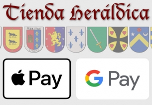 Tienda Heráldica Apple Pay y Google Pay
